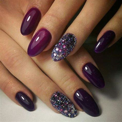fall color nails 25 best ideas about purple nail on