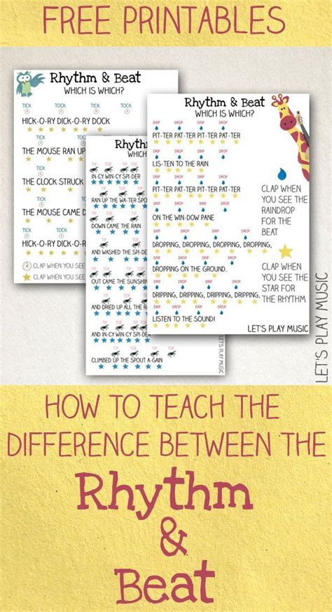 how to teach the difference between the rhythm and the 348 | a3281b135584a2b9ad421c7425464a35