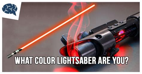what color lightsaber what color lightsaber are you brainfall