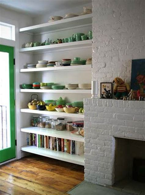 kitchen shelves ideas retro modern kitchen decorating ideas open kitchen