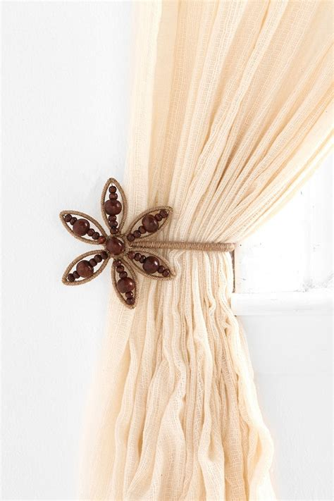 curtain and tie back decor pinterest