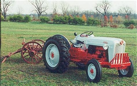 ford jubilee tractor paint color