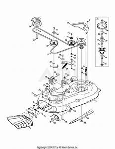 Troy Bilt 17arcacs011 Mustang 42 Xp  2015  Parts Diagram