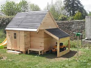 cuisine mes fabrications construction d39une cabane en With construire une cabane de jardin pour enfant