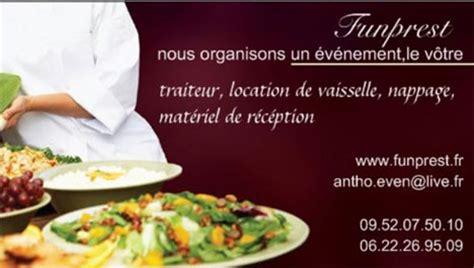 buffet bas cuisine cartes de visite traiteur préparation mariage de l