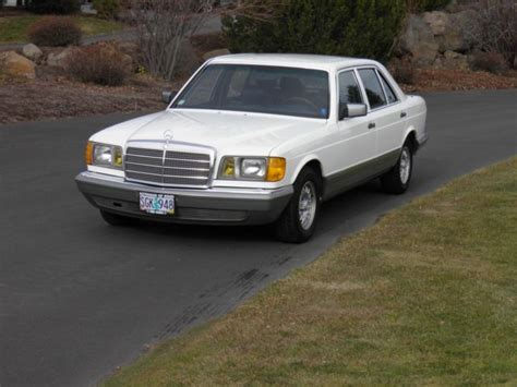 We haven't seen a nicer sel in many years. 1984 Mercedes-Benz 500SEL