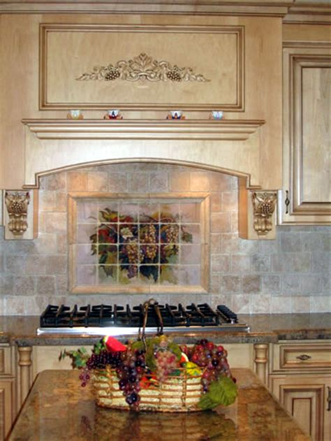 kitchen murals backsplash kitchen tile murals tile murals for kitchen painted tile