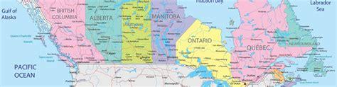 Carte Du Canada Le Monde En Marche by Carte Du Monde Pays
