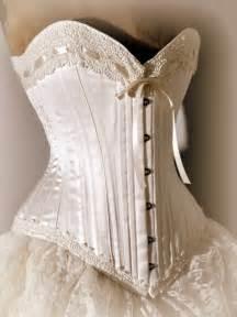 corset wedding dresses ivory wedding dress silk corset and bustle skirt by labellefairy - Wedding Dress Jacket
