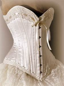 corset wedding dresses ivory wedding dress silk corset With bustier for wedding dress
