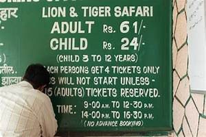 Safari FEE - Picture of Sanjay Gandhi National Park ...