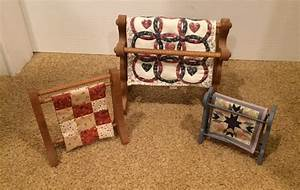 Miniature Quilt Racks - Blog by Phyllis Stewart - Wooden