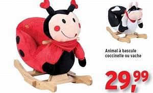 Animal Bascule Bebe : leen bakker promotion animal bascule coccinelle ou vache produit maison leen bakker ~ Teatrodelosmanantiales.com Idées de Décoration