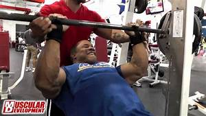 Victor Martinez Trains Arms - 2013 Mr  Olympia Prep