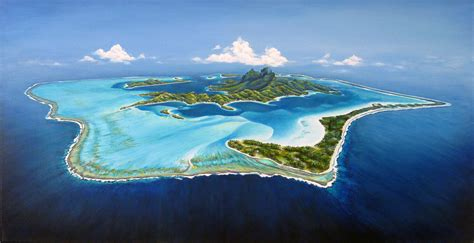 French Polynesia Pacific Ocean118 Islands Found The World
