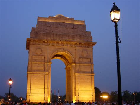 Indian Image by India Gate Monument In New Delhi Thousand Wonders