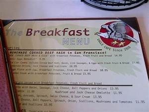 Typical american breakfast - Picture of Eagle Cafe, San ...
