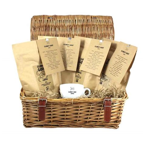 Choose sustainably grown and harvested coffee. Clumsy Goat Coffee Bean Gift Set With Mug | Clumsy Goat Coffee