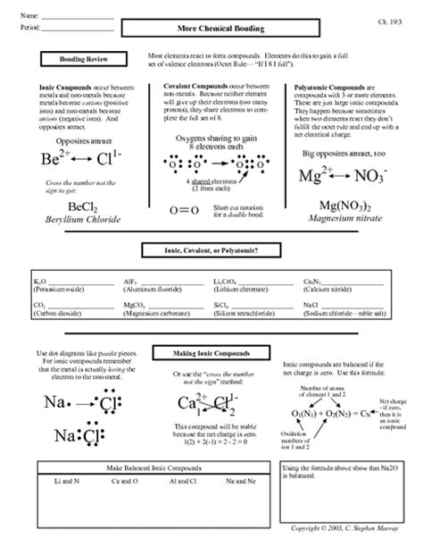 All Worksheets » Igcse Chemistry Worksheets With Answers  Printable Worksheets Guide For