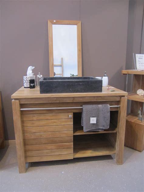meuble cuisine teck cuisine meuble salle de bain en teck brut meubles