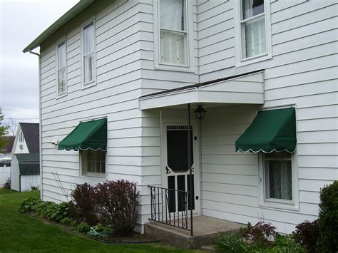 residential canvas window awnings muskegon awning