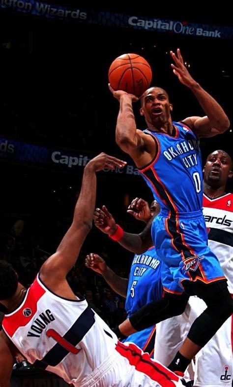 Russell Westbrook Oklahoma City Thunder Westbrook Nba