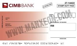 mock  cheque printing template design mx mucfb