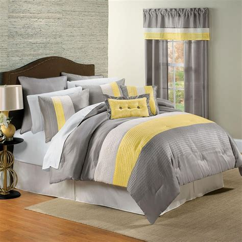 Yellow And Gray Bedroom Decor Neutral Meets Cheerful