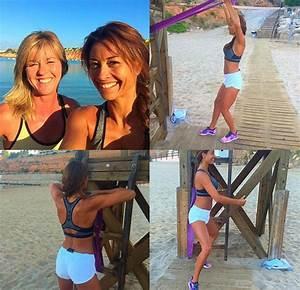 Melanie Sykes strips naked for swimming pool photoshoot ...