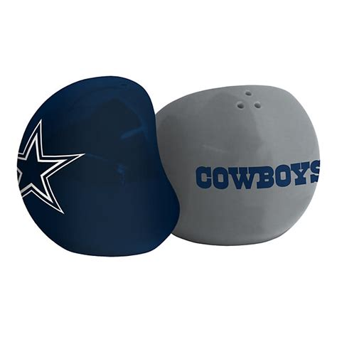 dallas cowboys kitchen accessories dallas cowboys sculpted salt and pepper shakers kitchen 6415