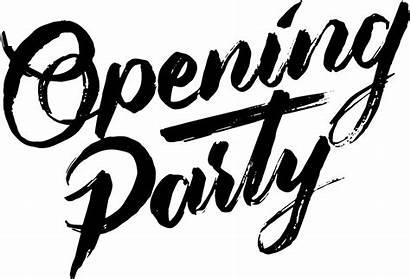 Party Opening Sunday