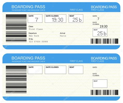 Modification De Billet Klm by Airline Boarding Pass Tickets Stock Photo 11399893