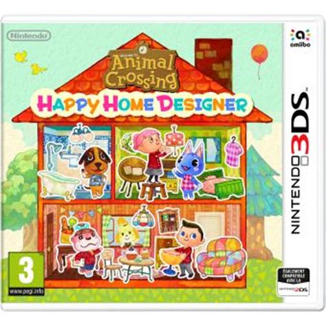 Welcome To The New Home Designing by Animal Crossing Happy Home Designer 3ds Jeux Vid 233 O