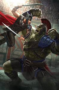 Thor And Hulk Dishing It Out In The New Thor: Ragnarok ...