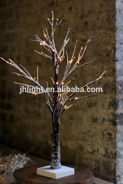 led warm white decorative tree branch lights christmas