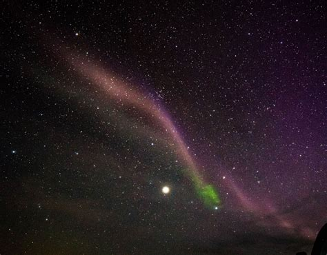 Astronomers Solve The Mystery Purple Lights