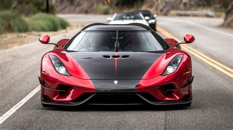 red koenigsegg regera koenigsegg regera debuts new aero package at pebble beach