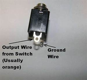 Guitar Output Jack Wiring Diagram