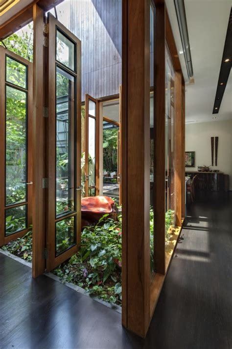 nature houe  courtyard homemydesign