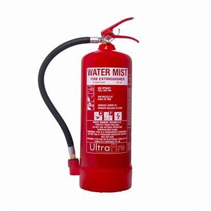 Extinguisher Fire Water Mist Ultrafire Litre Extinguishers