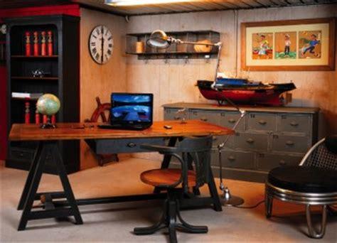 le de bureau industrielle les bureaux style meuble de métier industriel loft de