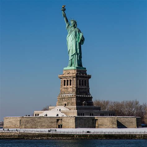 statue of liberty pedestal what does crowdfunding in architecture archdaily