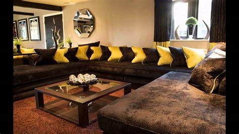cool brown sofa living room ideas youtube