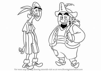 Pirates Jake Sharky Bones Draw Never Land