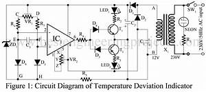 Temperature Deviation Indicator Using Op