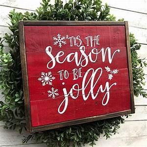 32, Merry, Christmas, Framed, Wood, Sign