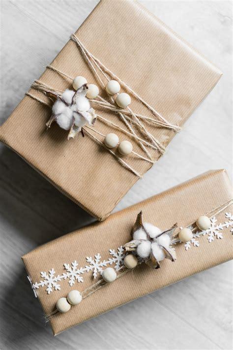 Weihnachtsgeschenke Verpacken  5 Einfache Diyideen