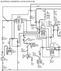 john deere lt166 wiring diagram wiring diagram and fuse With generator electrical schematic and wiring diagram no 62004 diagram
