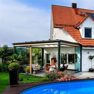 Terrassenuberdachung in holz aluminium konstruktion neu for Konstruktion terrassenüberdachung