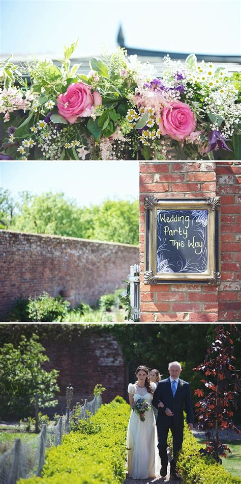 Garden Party Themed Wedding At The Secret Garden Kent